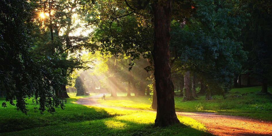 Rozprávková jeseň v zámockom parku v Stupave