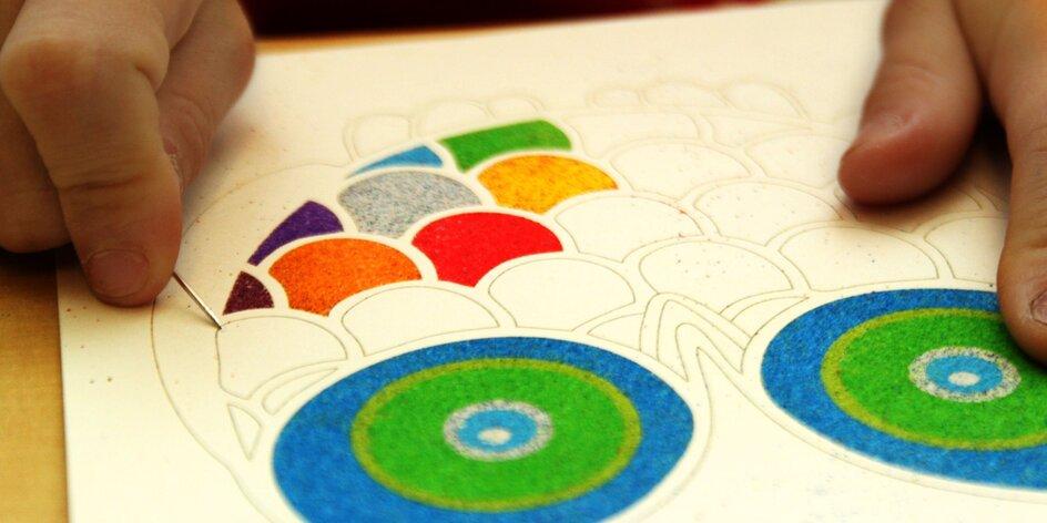 Kreatívne sady s farebným pieskom pre každého