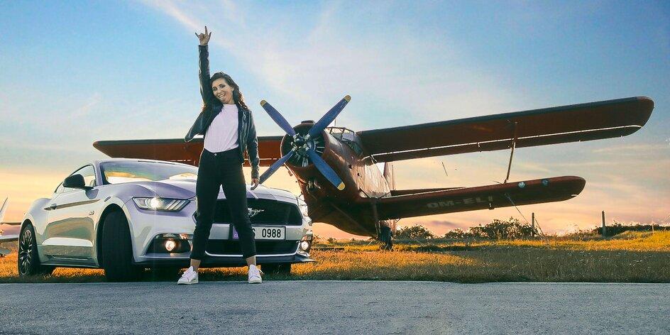 Jazda v Mustangu pre tínedžerov bez vodičáku!