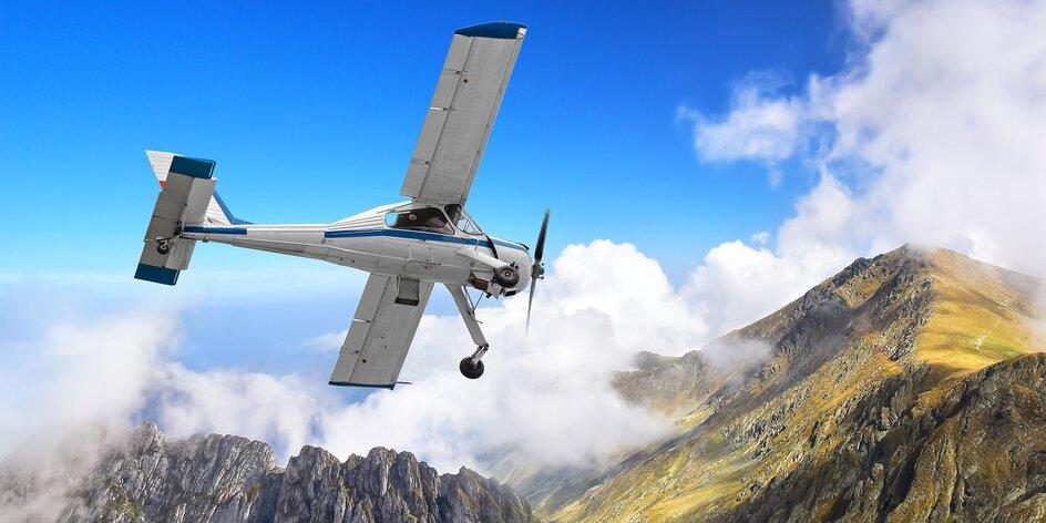 Vyhliadkové lety na lietadlách Cessna