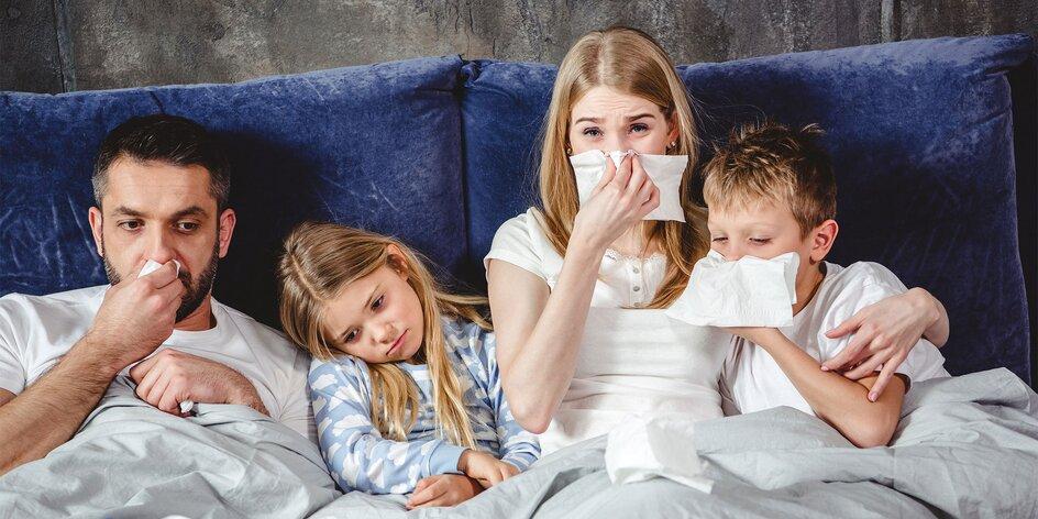 Chlad a choroby sú tu! Utekajme a imunitný systém pomáhaj!