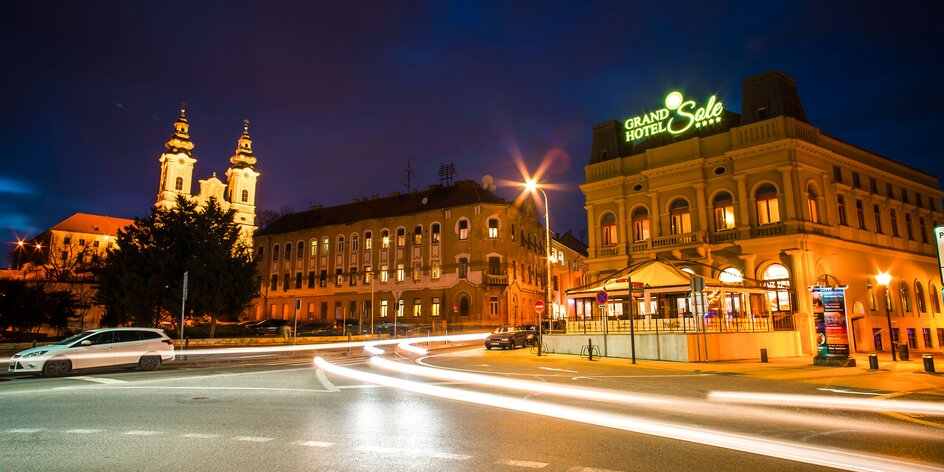 Víkendový wellness pobyt v 4* hoteli v centre Nitry