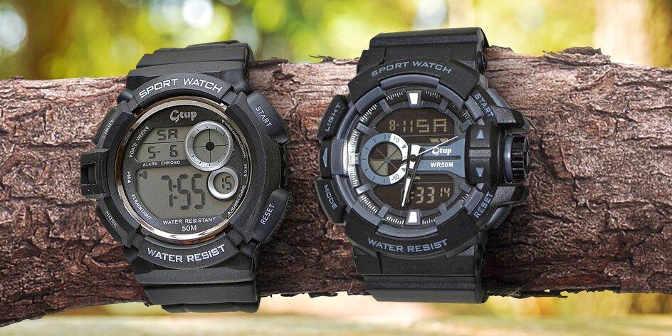 Vojenské hodinky: vodotesné a odolné voči otrasom