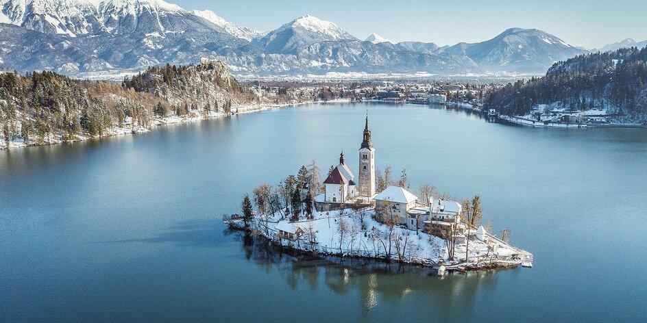 Pobyt v mestečku Bled - Julské Aply, raňajky alebo polpenzia