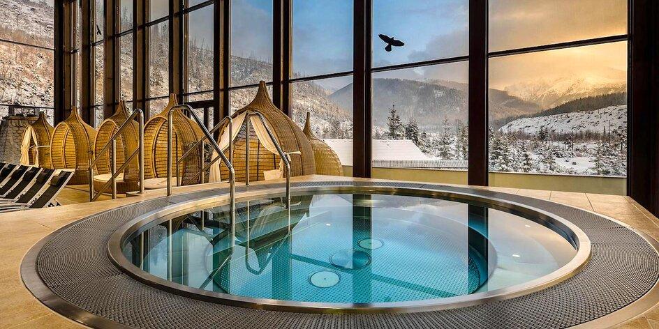 Pobyt v zrube pre 2-4 osoby v Tatrách s TOP wellness Grand hotela Permon****