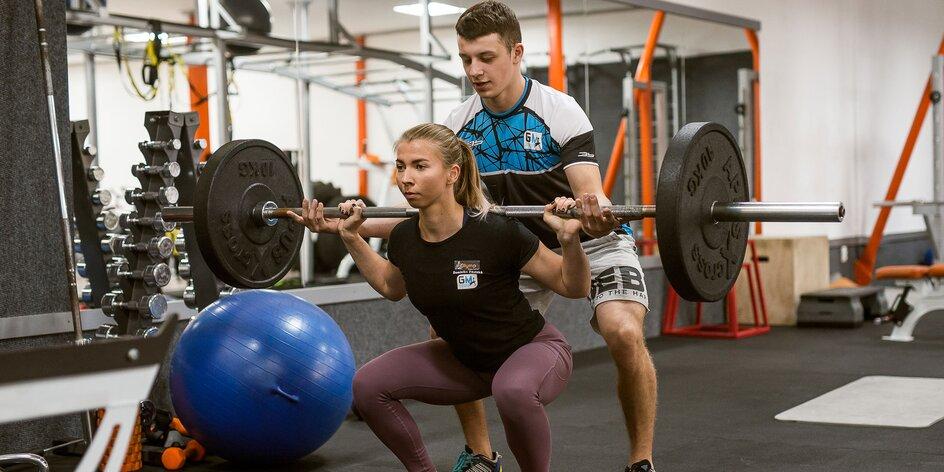 Tréningy s osobným trénerom + vstup do fitness centra Olymp