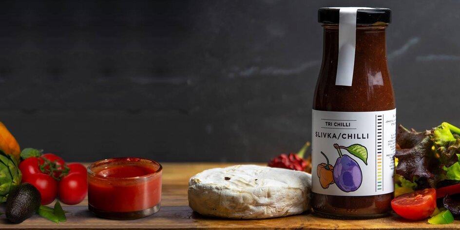 Slovenské výrobky: kečupy a chilli omáčky