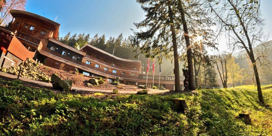 Relaxačný pobyt v Beskydách: 4* horský hotel, wellness a polpenzia