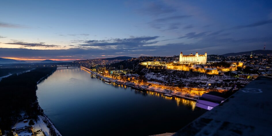 Luxusné ubytovanie v Bratislave s výhľadom na Dunaj