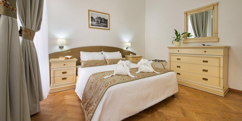 Pobyt v luxusnom apartmáne v centre Prahy s raňajkami