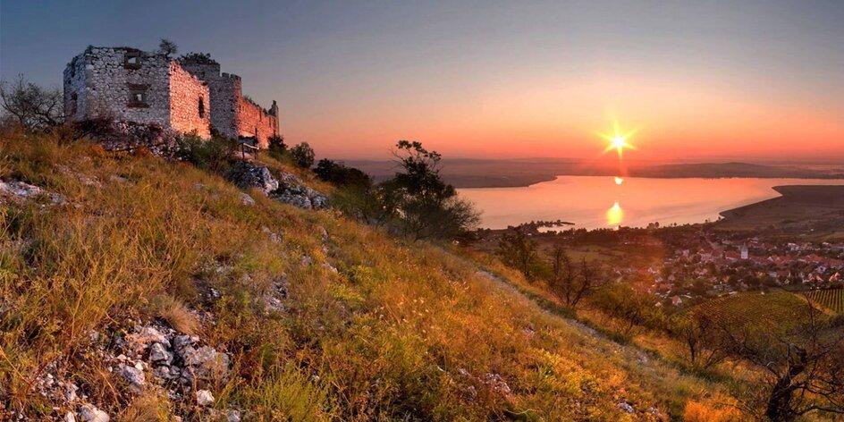 Oddych vo viniciach na južnej Morave: pobyt s polpenziou pre páry alebo rodiny