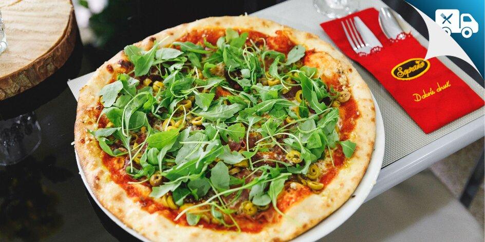 Originálna talianska pizza: 27 druhov – aj rozvoz