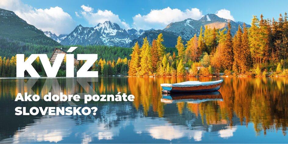 Kvíz: Spoznáte miesta na Slovensku podľa fotografie?
