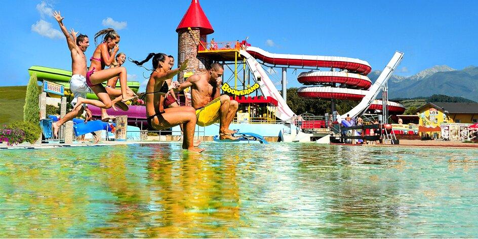 Dovolenka v Nízkych Tatrách aj s celodenným Aquaparkom Tatralandia alebo…