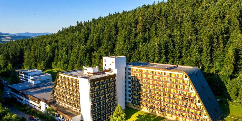 Dovolenka horskom prostredí Starej Ľubovne s bazénom, wellness a aktivitami