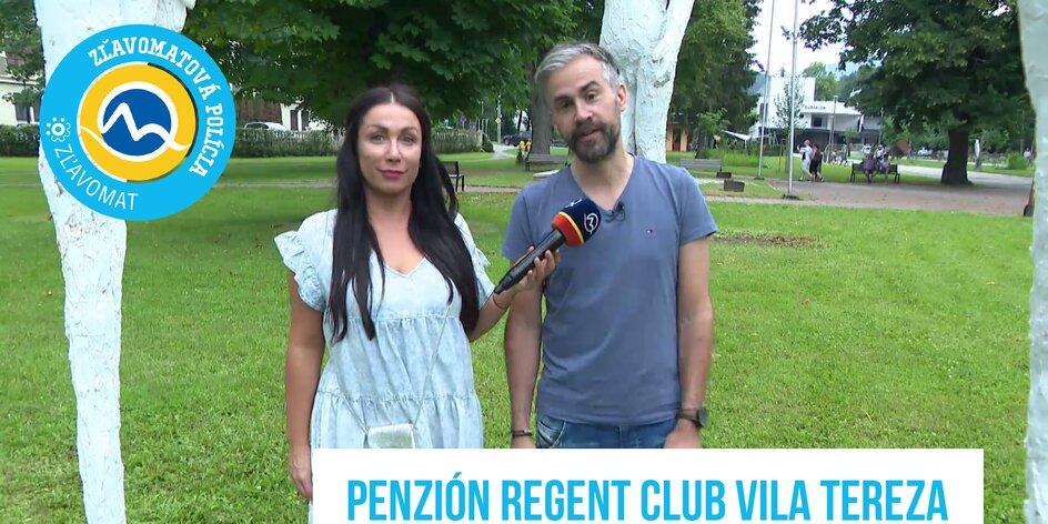 Zľavomatová polícia v romantickom penzióne Regent Club Vila Tereza