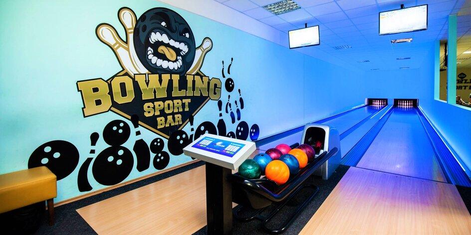 2 hodiny bowlingu s partiou v Bowling SportBare Solinky