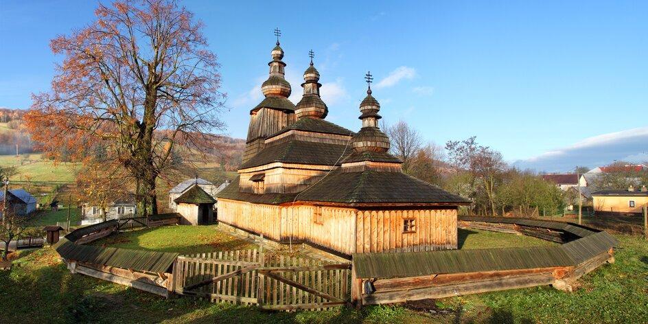 UNESCO pamiatky (časť 2): Vzácne drevené chrámy, postavené bez jediného klinca