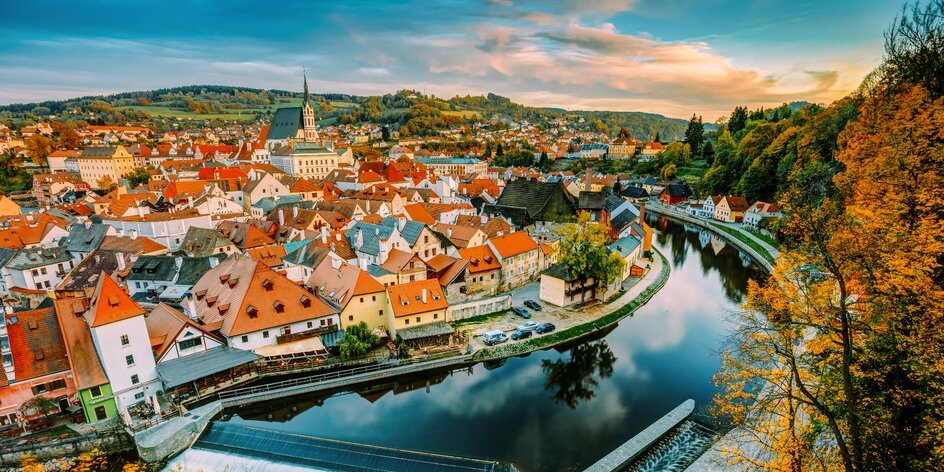 Romantický pobyt v Českom Krumlove až pre 4 osoby