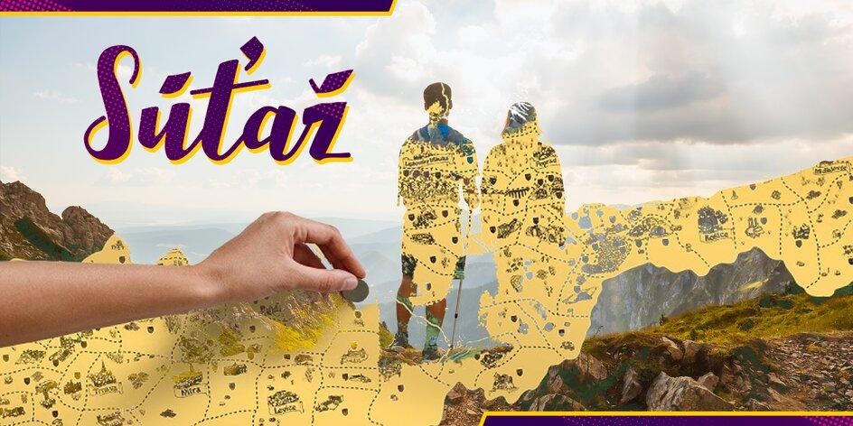 Zapojte sa do našej súťaže a vyhrajte nádhernú stieraciu mapu Slovenska!