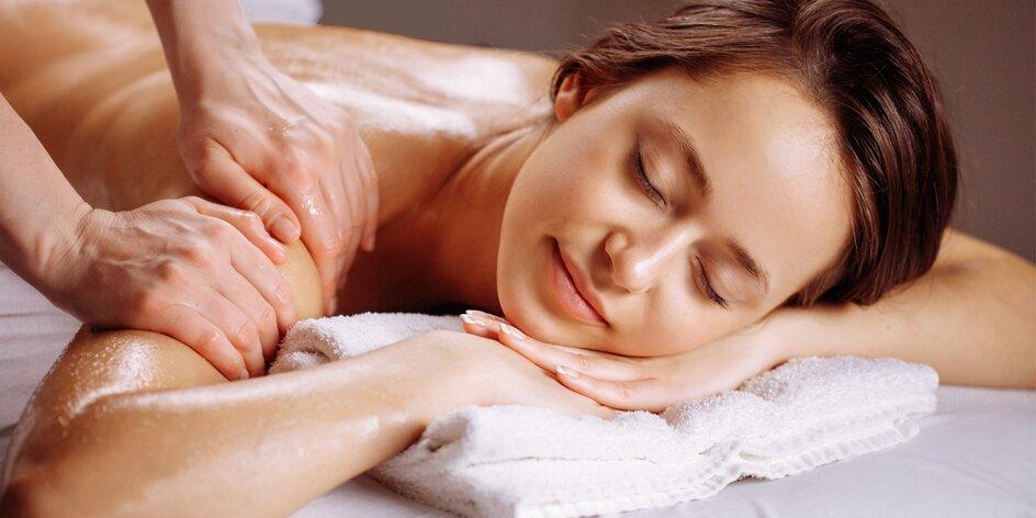 Odborná masáž tela či protivrásková masáž tváre