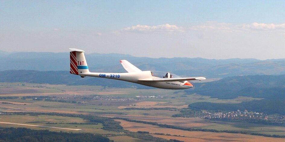 Nezabudnuteľný let vetroňom ponad Vysoké Tatry