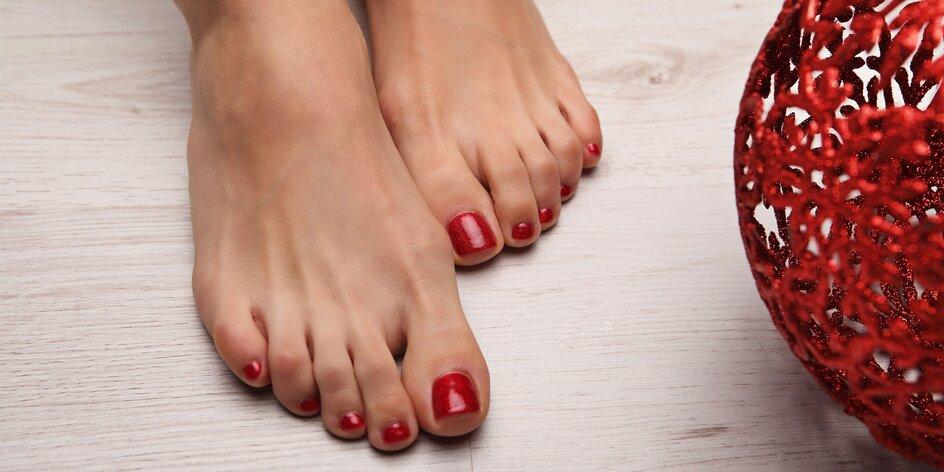 Wellnes pre nohy: mokrá pedikúra či darčekový poukaz