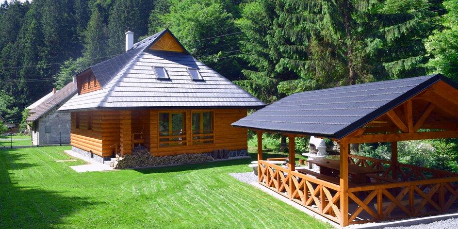 Oddych v krásnej chate neďaleko Donovalov
