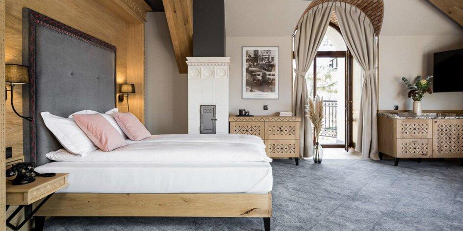 Luxusné ubytovanie v centre Zakopaného s raňajkami alebo polpenziou