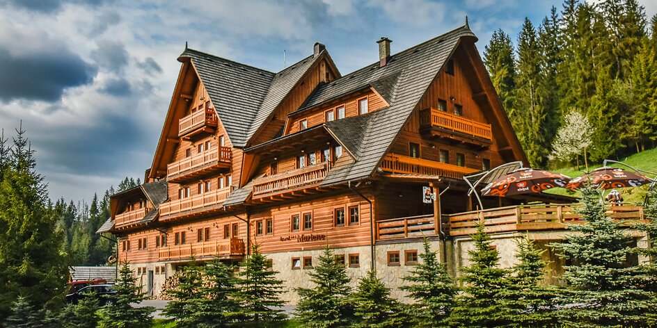 Aktívna dovolenka v horskom prostredí v Hoteli Marlene**** s neobmedzeným wellness
