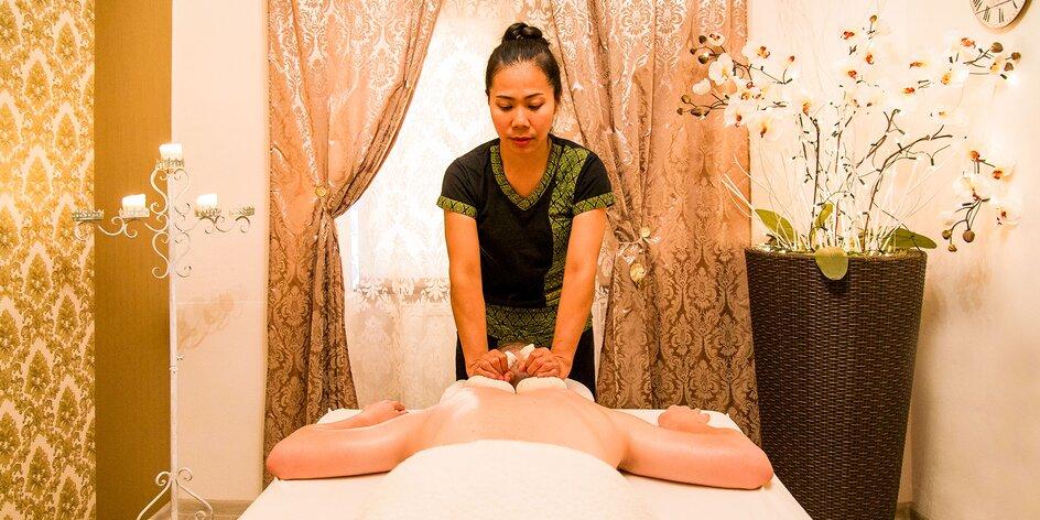 Nájdite vnútornú rovnováhu nielen na thajskej masáži