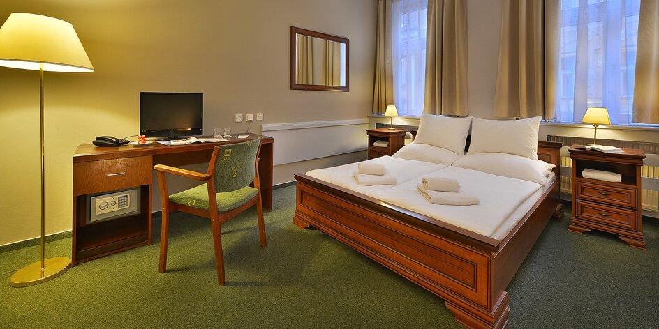 Pobyt s raňajkami v Prahe: krásny hotel blízko centra