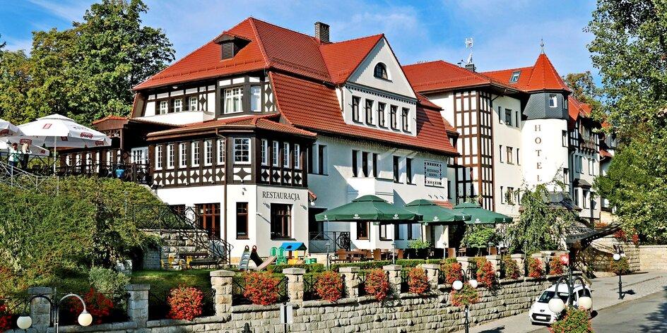 4* wellness pobyt v centre poľského kúpeľného mestečka s polpenziou