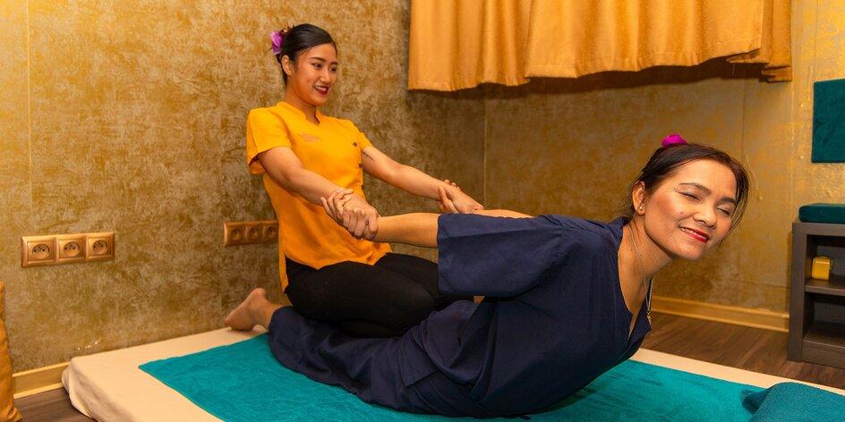 Absolútny relax na thajskej masáži