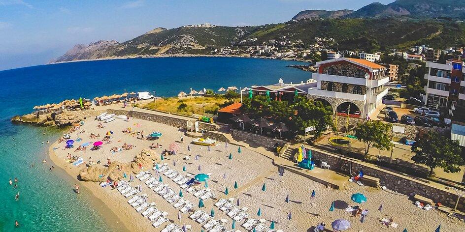 Apartmány v Čiernej Hore: 200 m od pláže, bohatá polpenzia