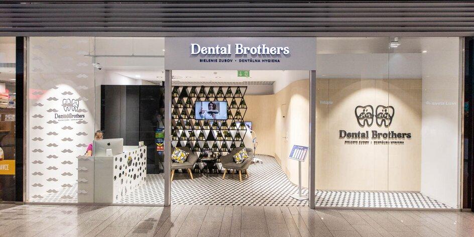 Získajte žiarivo biely úsmev v Dental Brothers!