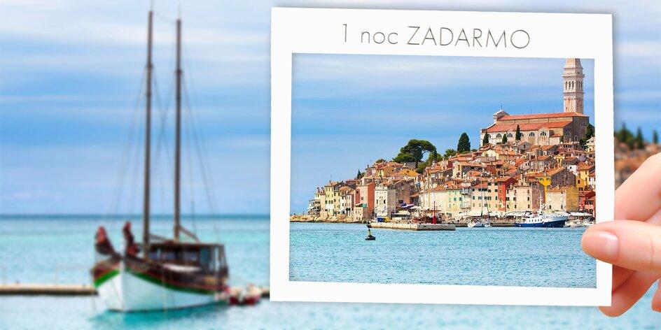 15 dní v rozprávkovej Istrii: apartmány pre 2 až 4 osoby