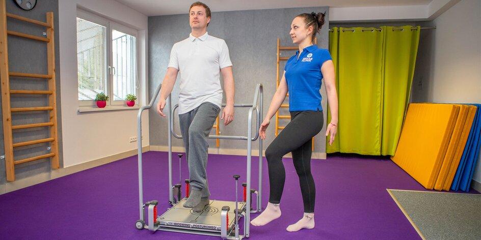 Komplexný balík fyzioterapie, post COVID terapia, liečebný telocvik, masáž i laseroterapia