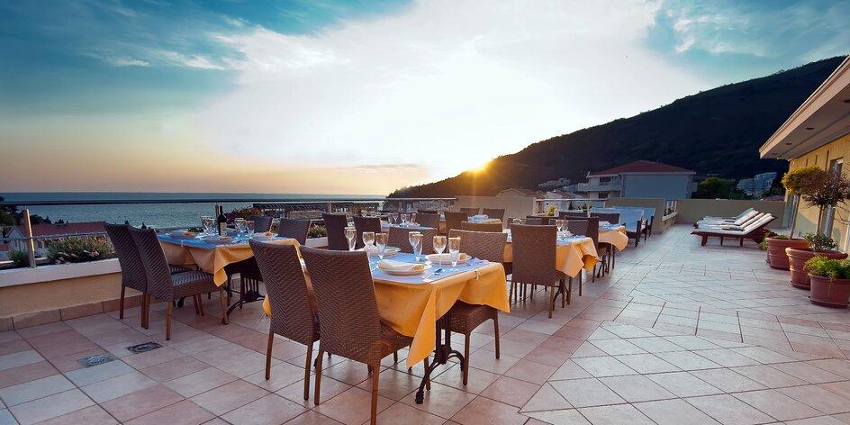 Dovolenka v Čiernej Hore: ubytovanie s raňajkami, hotel 350 m od pláže