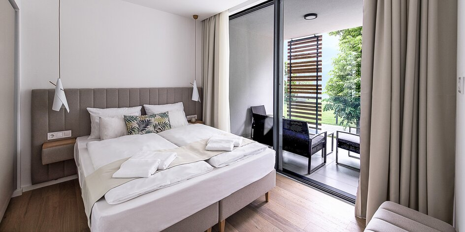 Moderný apartmán na brehu Balatonu až pre 6 osôb