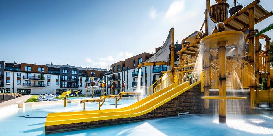 Nový rezort na poľskom brehu Baltského mora: polpenzia, wellness, vodný park