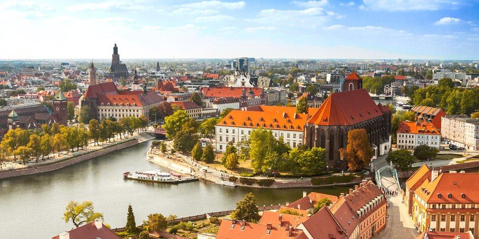 Magický Vroclav s raňajkami alebo polpenziou