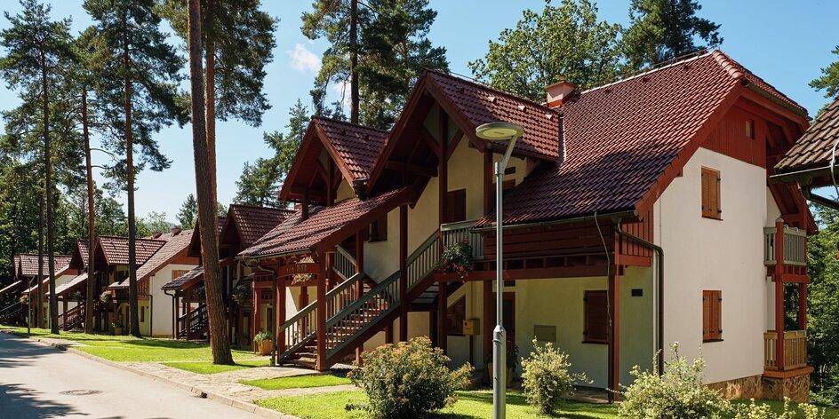 Dovolenka v Slovinsku: vilky pri jazere, sauny a animačné programy
