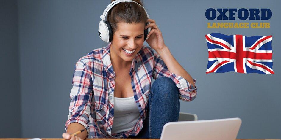 Online kurzy angličtiny Oxford Language Club