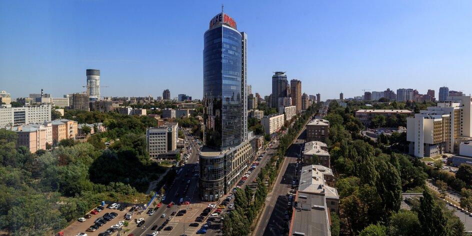 Pobyt v Kyjeve s raňajkami a výhľadom na mesto