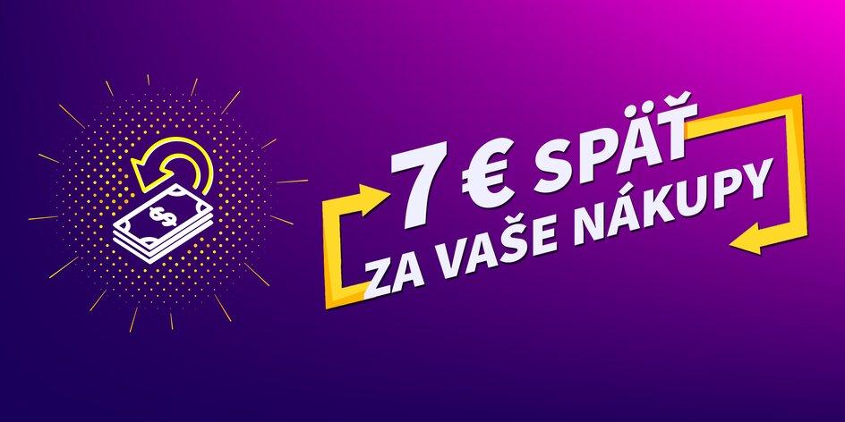 Fantastická cashback kreditovka! Získajte až 7 € späť za vaše nákupy!