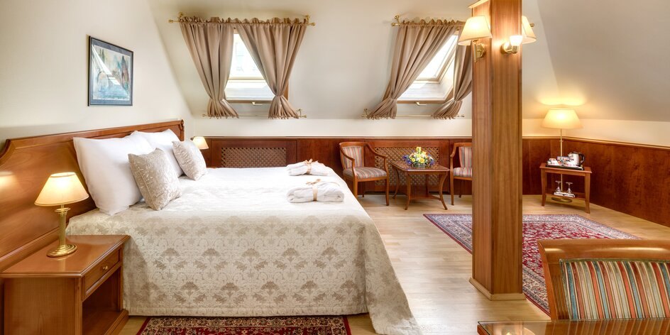 4* hotel v blízkosti Václavského námestia: pobyt s raňajkami