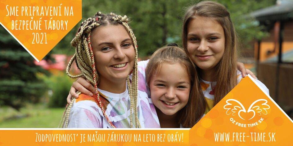 """Kreatívno dobrodružný letný tábor v Štiavnických vrchoch """"Čarokraj"""" 7 dní"""