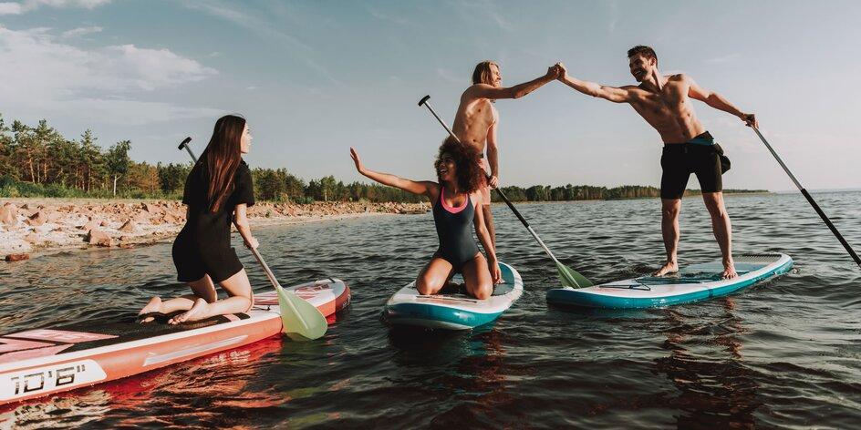 Dobrodružstvo na paddleboarde na Liptovskej Mare