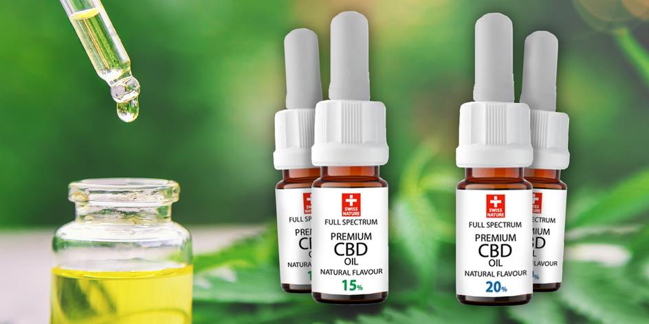 Liečivé prémiové CBD oleje: na migrénu, nespavosť i akné